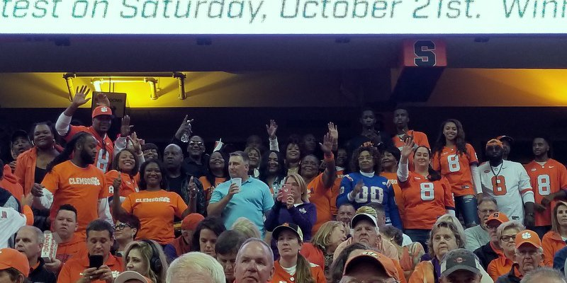 A.J. Terrell's family was out in force
