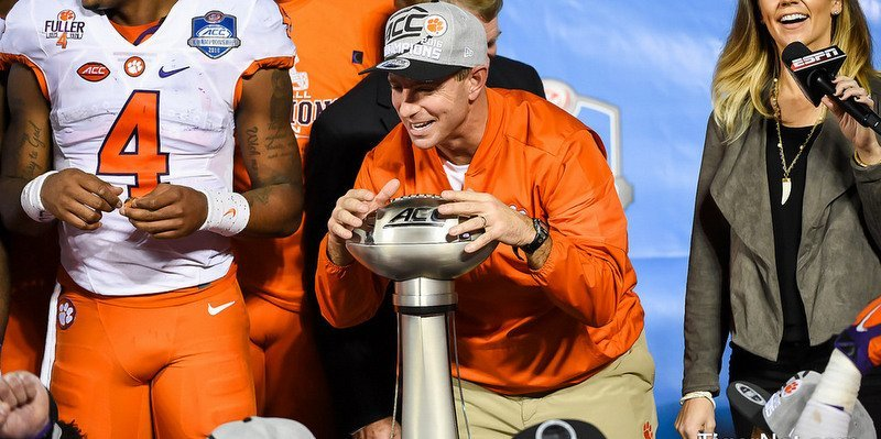 Swinney and the Tigers will have another shot at the Playoff if they beat Miami