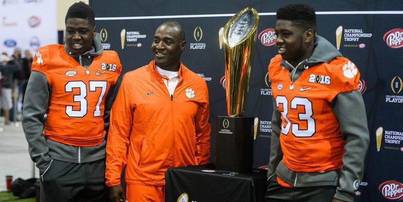 Jeff Davis has been able to experience the national championship journey with his two sons.