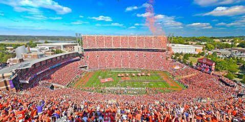 Clemson's Death Valley will host one more game this season