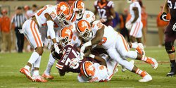 Sandman brings orange-colored nightmare to Hokies