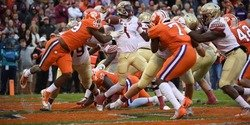 Despite mounting injuries, defense responds late against Florida St.