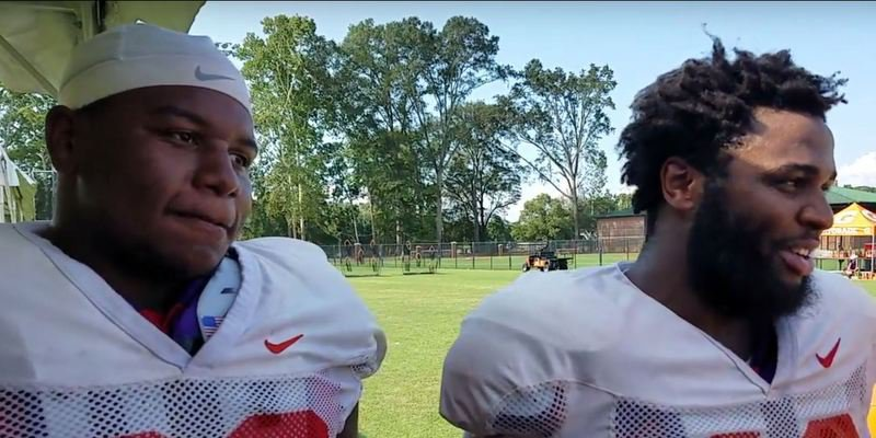 Lawrence and Wilkins form a dynamic tandem at defensive tackle