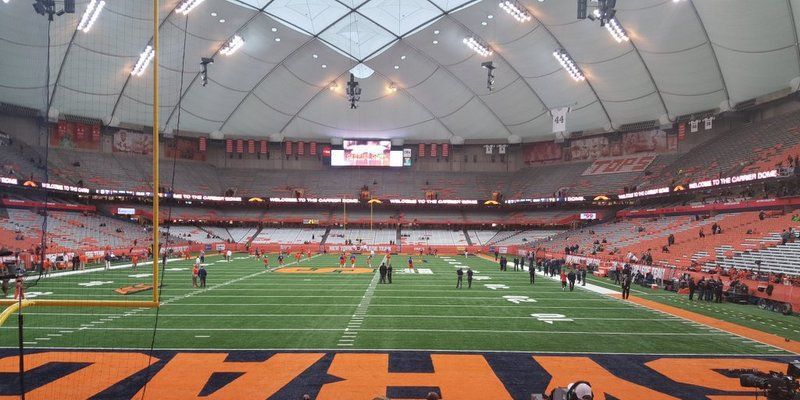 Clemson plays in the Carrier Dome Friday