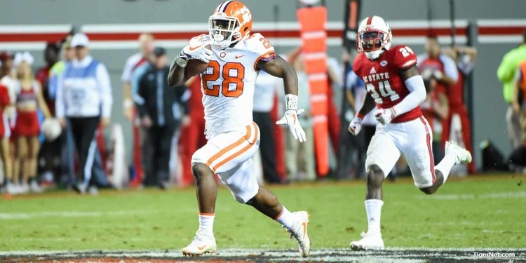 TV channel set for Clemson-NC State