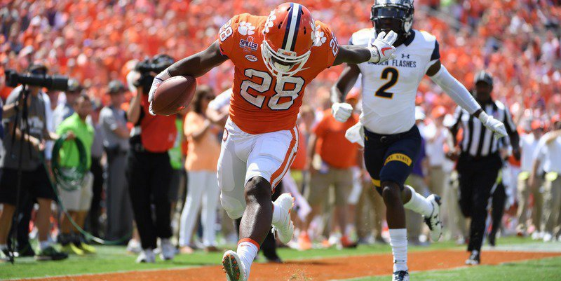 Tavien Feaster recalls his track days as he