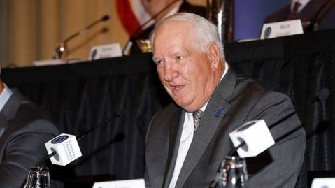 Ford says he hopes players from past eras feel a part of Clemson's current run. (National Football Foundation/Melissa Macatee)