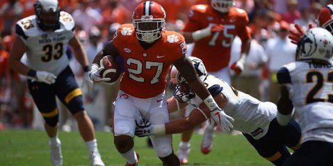 """Fuller says Clemson """"will always hold a special place"""" in his heart."""