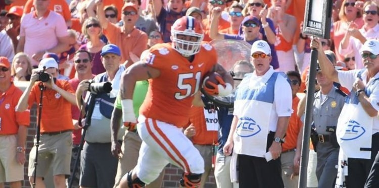 Former Clemson OL promoted to Panthers' active roster