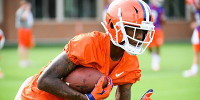 Tee Higgins had a strong scrimmage Saturday
