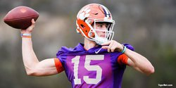 Hunter Johnson shines as Tigers scrimmage in Death Valley