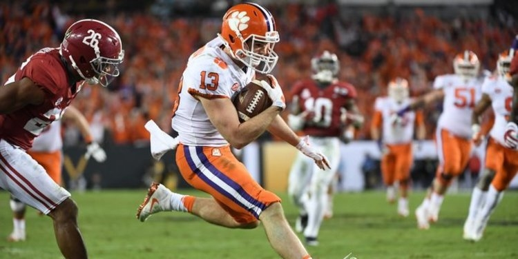 Hunter Renfrow and the Clemson offense hope to get off to a fast start against Bama