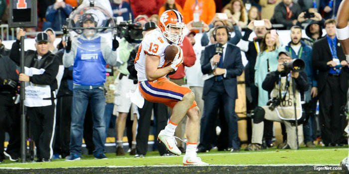 Hunter Renfrow's catch was the perfect ending to an unbelievable season