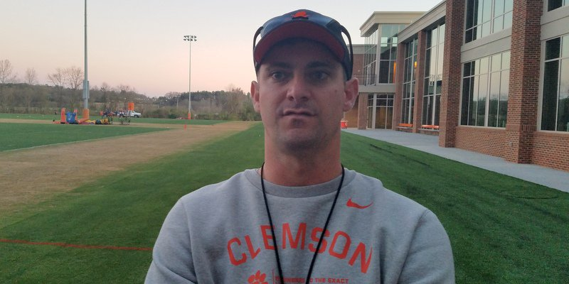 Jeff Scott has been pleased with the progress of the offense this spring