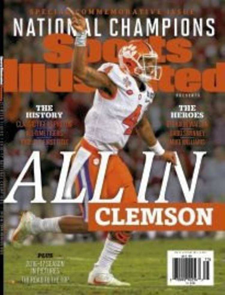 Deshaun Watson on cover of Sports Illustrated