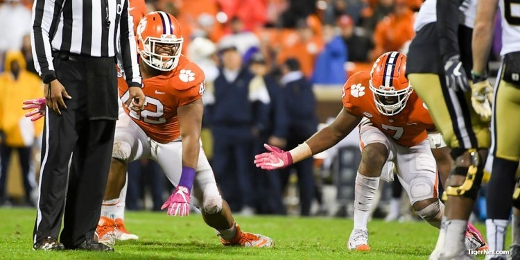 Three Clemson defensive linemen might swag surf their way into the first round