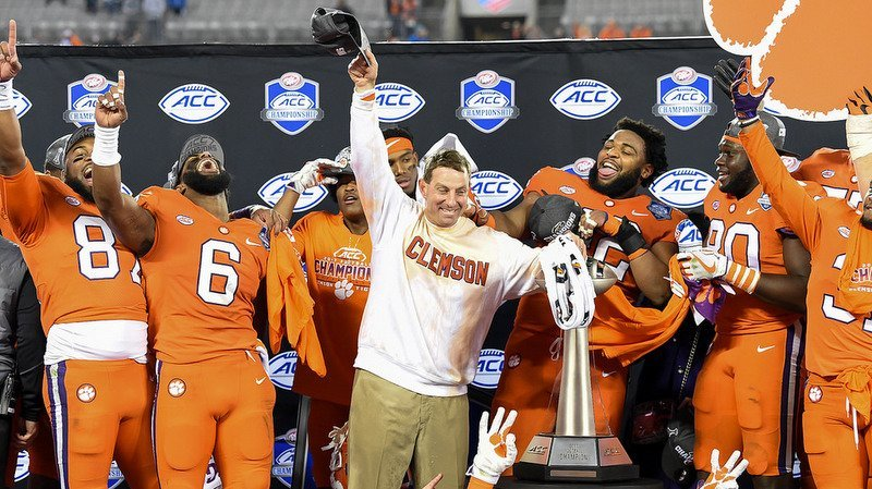 Swinne celebrates another ACC Championship