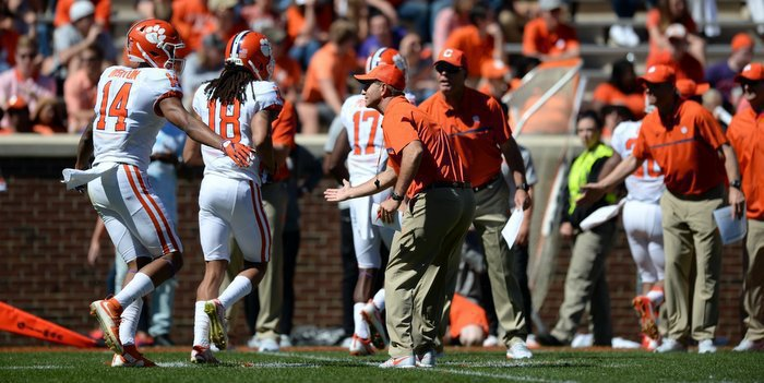 Swinney says it was good to see the offense bounce back