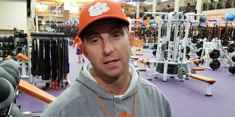 Dabo Swinney met with the media Friday afternoon and discussed a variety of topics.