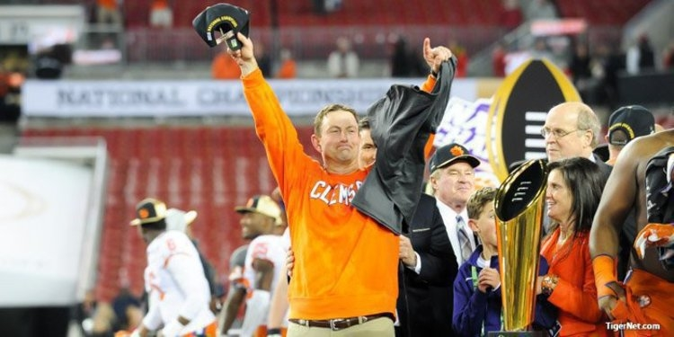 The first of two national titles in three seasons under Dabo Swinney is one of the best games in college football history.