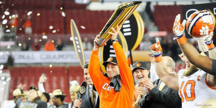 Clemson has a shot at another trip to the College Football Playoff