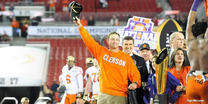Can the Tigers make a third consecutive appearance in the College Football Playoff?