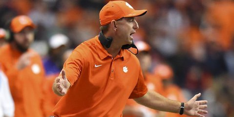 Clemson is trying out a new kicker to help solve the field goal woes (USA TODAY Sports-Rich Barnes).