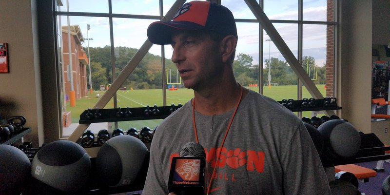 Clemson travels to take on Louisville this weekend