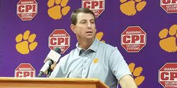 No falling asleep on the bus: Swinney expects raucous environment in Blacksburg