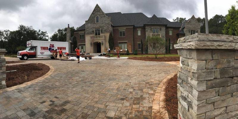 The Swinney's moved into the new house last month (Photo courtesy of Tiger Moving)