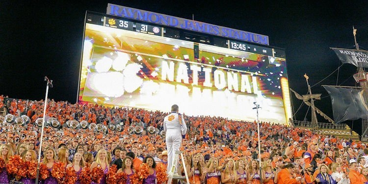 Clemson to suspend open container laws if Tigers reach title game