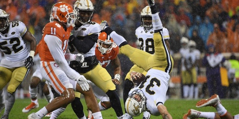 Clemson's defense will have its hands full with the Tech option attack