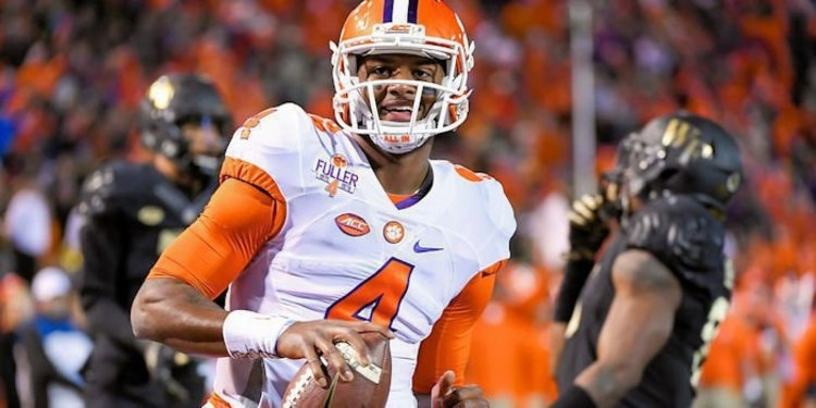 Watson helped Clemson win the 2016 National title
