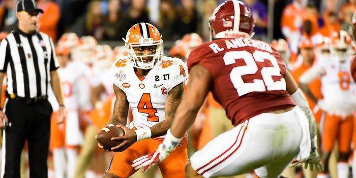 Watson beat Alabama in Tampa, and again last week in Tuscaloosa