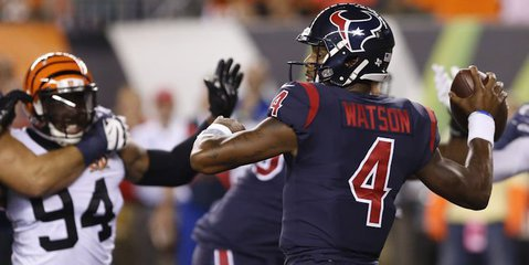 """ESPN's Todd McShay says Watson is a """"special dude,"""" but the Texans will have evolve to sustain success. (USA TODAY Sports-David Kohl)"""