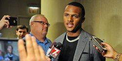 "Watson says draft experts like Kiper and McShay are ""irrelevant"""