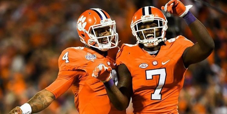 Clemson has had at least one first-round selection for five consecutive years.