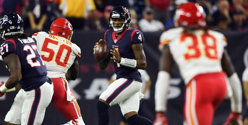 Houston coach Bill O'Brien was impressed with the fight from Deshaun Watson Sunday.
