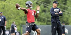 Watson listed as second-team QB on Texans' depth chart