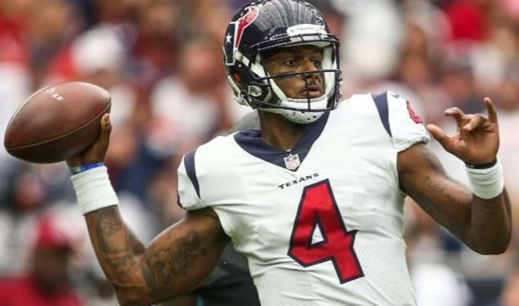 Deshaun Watson entered Sunday's game in the second half and threw his first career touchdown pass Nuk Hopkins (USA TODAY Sports-Troy Taormina)