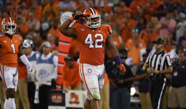 Christian Wilkins joins two teammates in the top-25 nationally in sacks early.