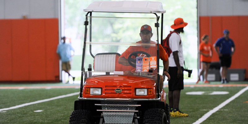 Swinney is expecting thousands of campers over the next few weeks