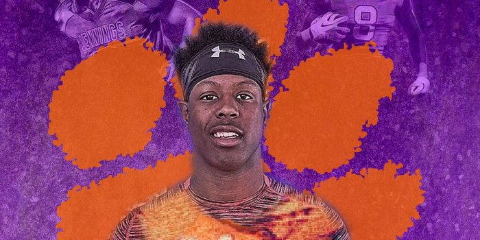 Etienne says he knew Clemson was the right fit last weekend