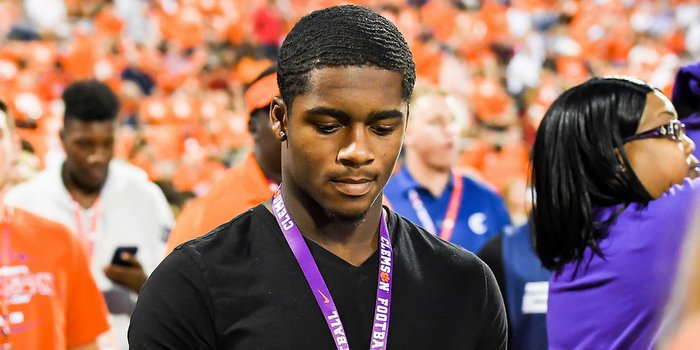 Ford visited campus last fall for Clemson's win over Louisville