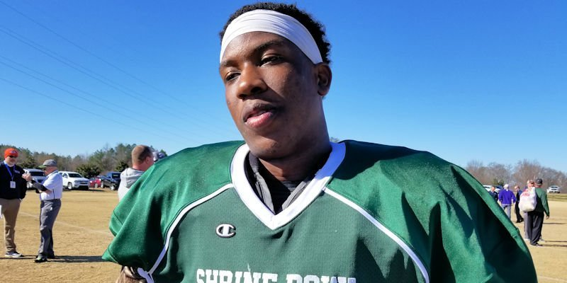 K.J. Henry is participating in this week's Shrine Bowl of the Carolinas