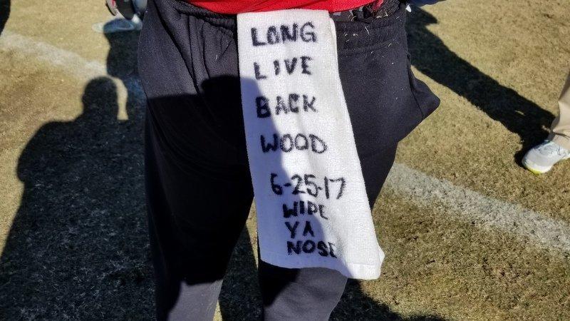 Kendrick's towel reminds him of Quan Torbit