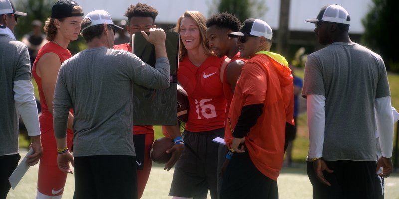 Clemson commits, including
