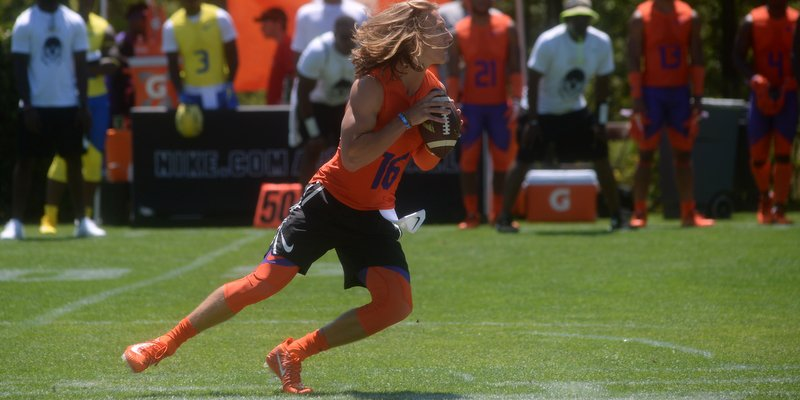 Trevor Lawrence: Sunday performance shows his dominant side