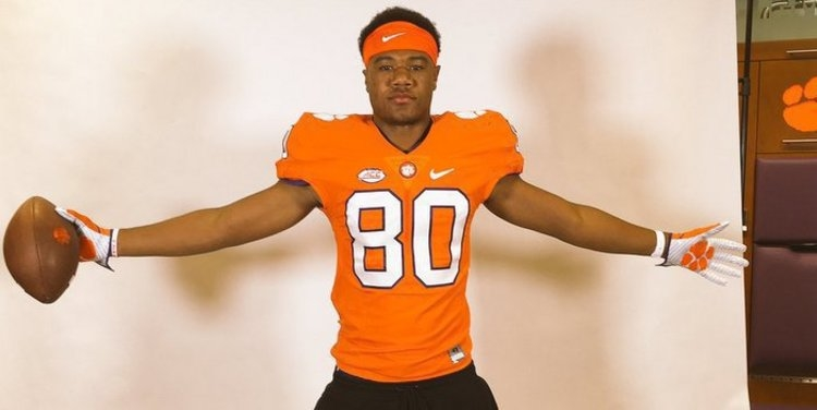 Muhammad could be the next ultra talented Clemson TE