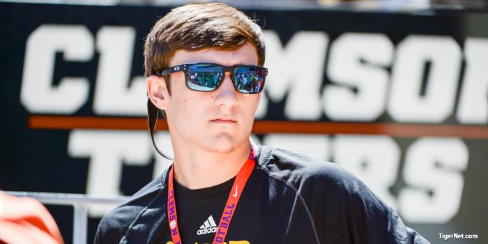 B.T. Potter received a Clemson offer Wednesday morning.